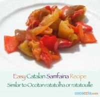 Catalan Samfaina Recipe