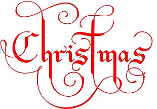 Signature Christmas - Fichier à broder gratuit .pes
