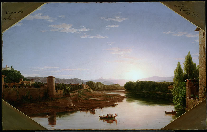 View of the Arno, Near Florence