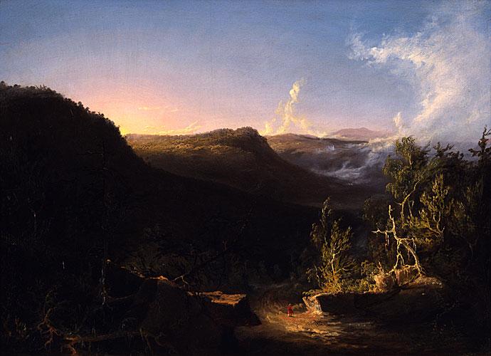 Catskills Mountain Landscape