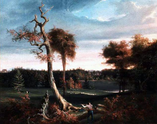 The Woodchopper, Lake Featherstonhaugh