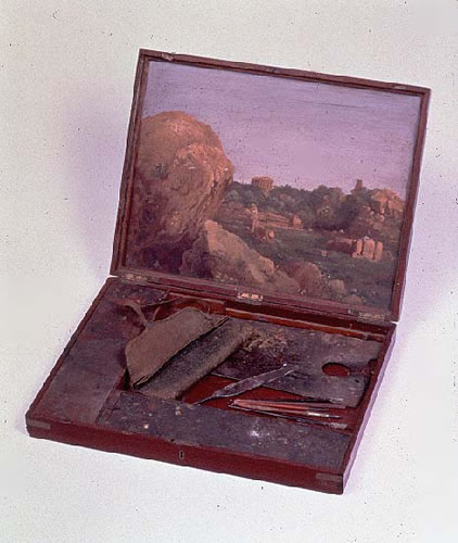 Thomas Cole's Portable Paint Box
