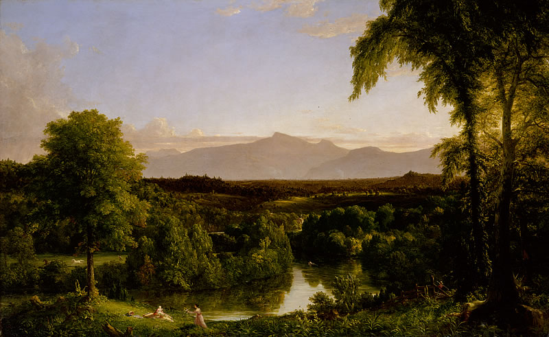 View on the Catskill, Early Autumn