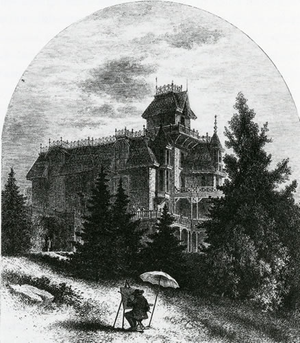 Residence of Albert Bierstadt