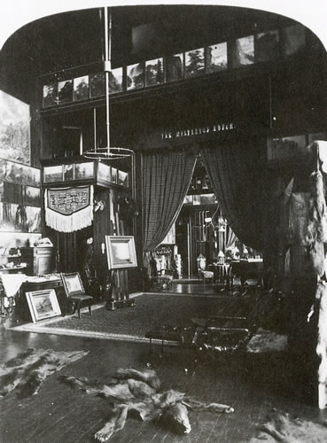 Bierstadt's Studio at Malkasten