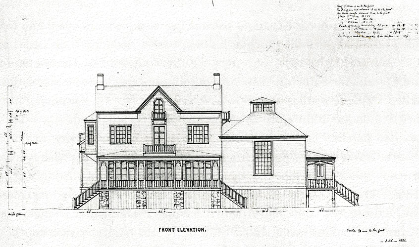 Front Elevation, Aladdin