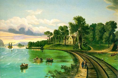 Sunnyside from the Hudson