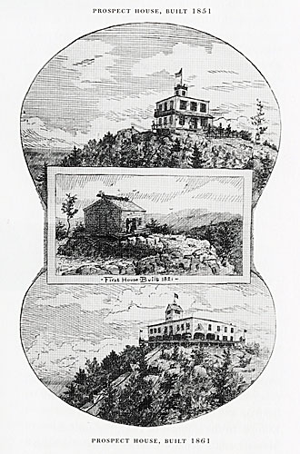 [Three Views of the Mountain House]