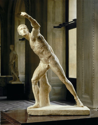 Agasias of Ephesus, son of Dositheus (Fighting Warrior known as the Borghese Gladiator)