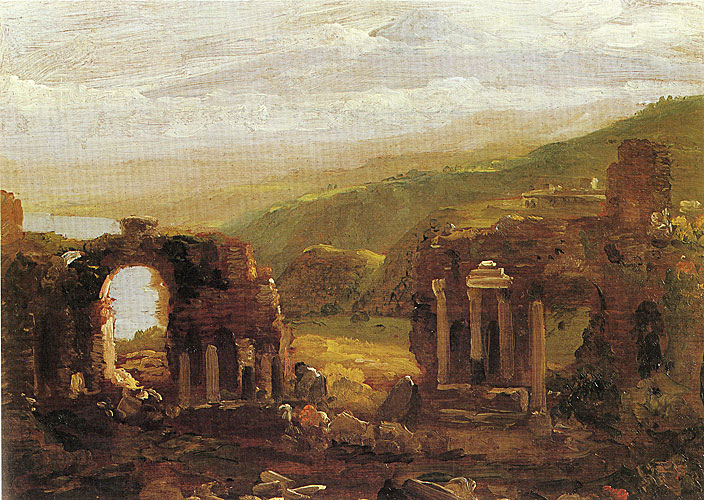 The Ruins at Taormina