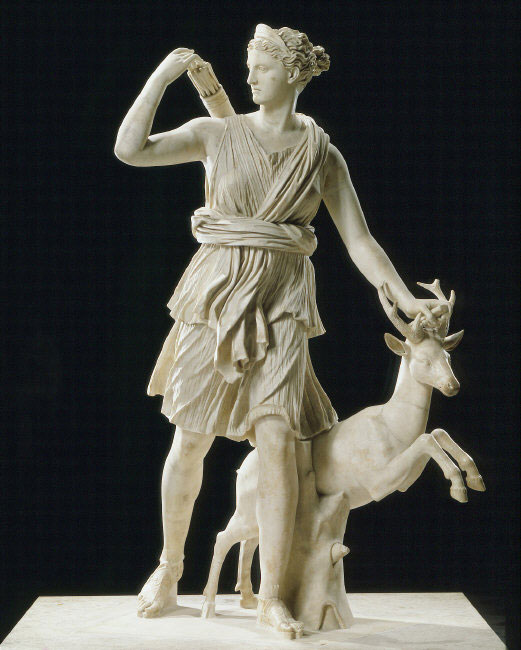Artemis with a Doe, known as the Diana of Versailles