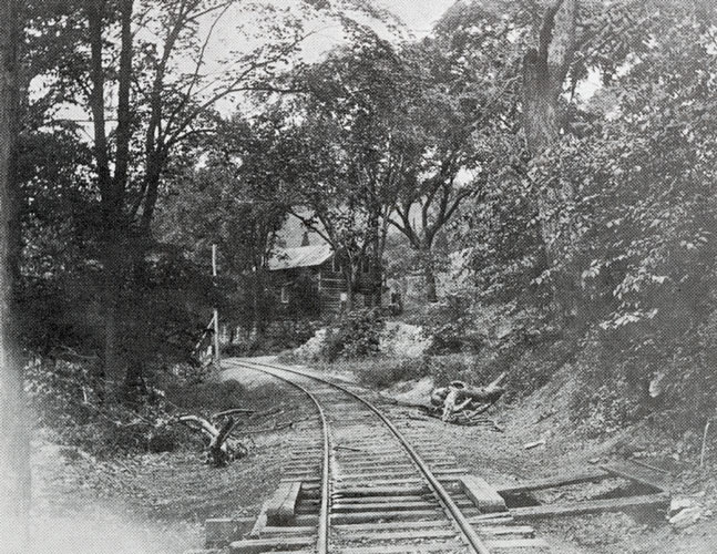 The Miller's House Beside the Track