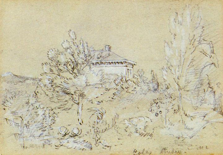 Thomas Cole's Studio, Catskill, New York (The Second Studio)