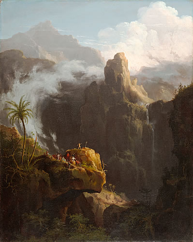 Landscape Composition, St. John in the Wilderness