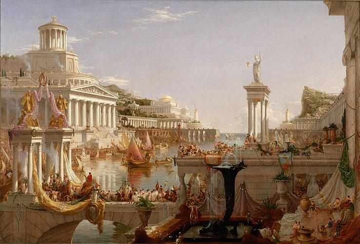 The Course of Empire: The Consummation of Empire