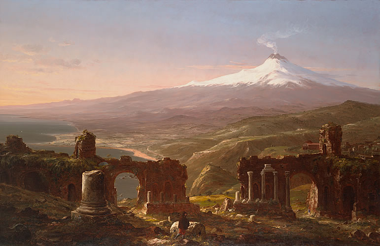 Mount Etna From Taormina, Sicily