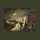 Rocky Landscape with a Hunter (&lt;em&gt;Paysage rocheux avec un chasseur&lt;/em&gt;)
