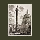 View of the Trajan's Column, Plate 31 from the Views of Rome (La colonna Traiana)