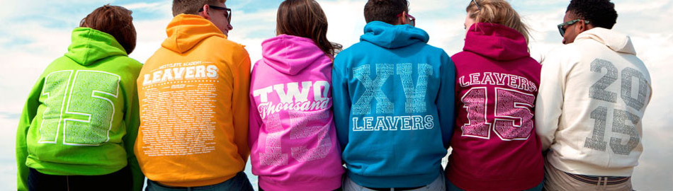 School leaver hoodies 2015
