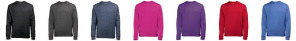 Heather sweatshirt colours