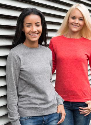 Girlie heather sweatshirt