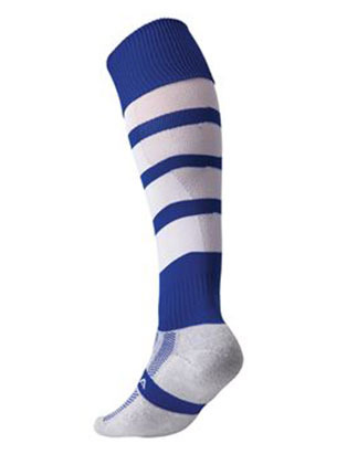 Technical performance hooped sock