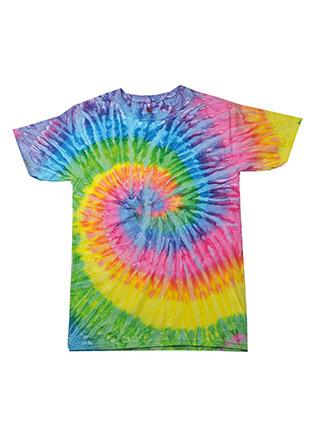 Kids rainbow tie dye shirt