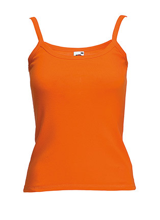 Lady fit strap tee