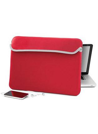 Reversible laptop sleeve