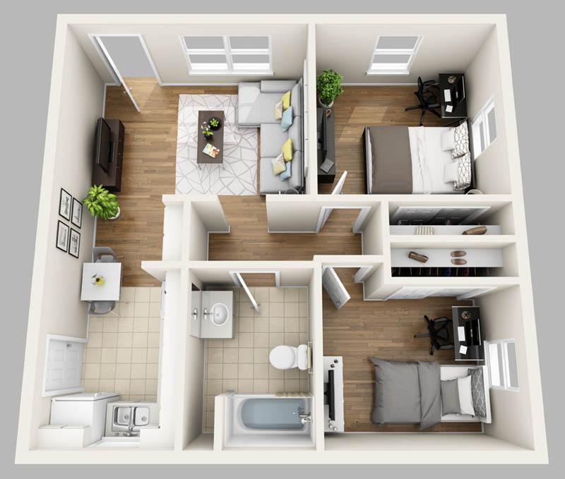 Apartments near university of florida college student - Casas americanas por dentro ...