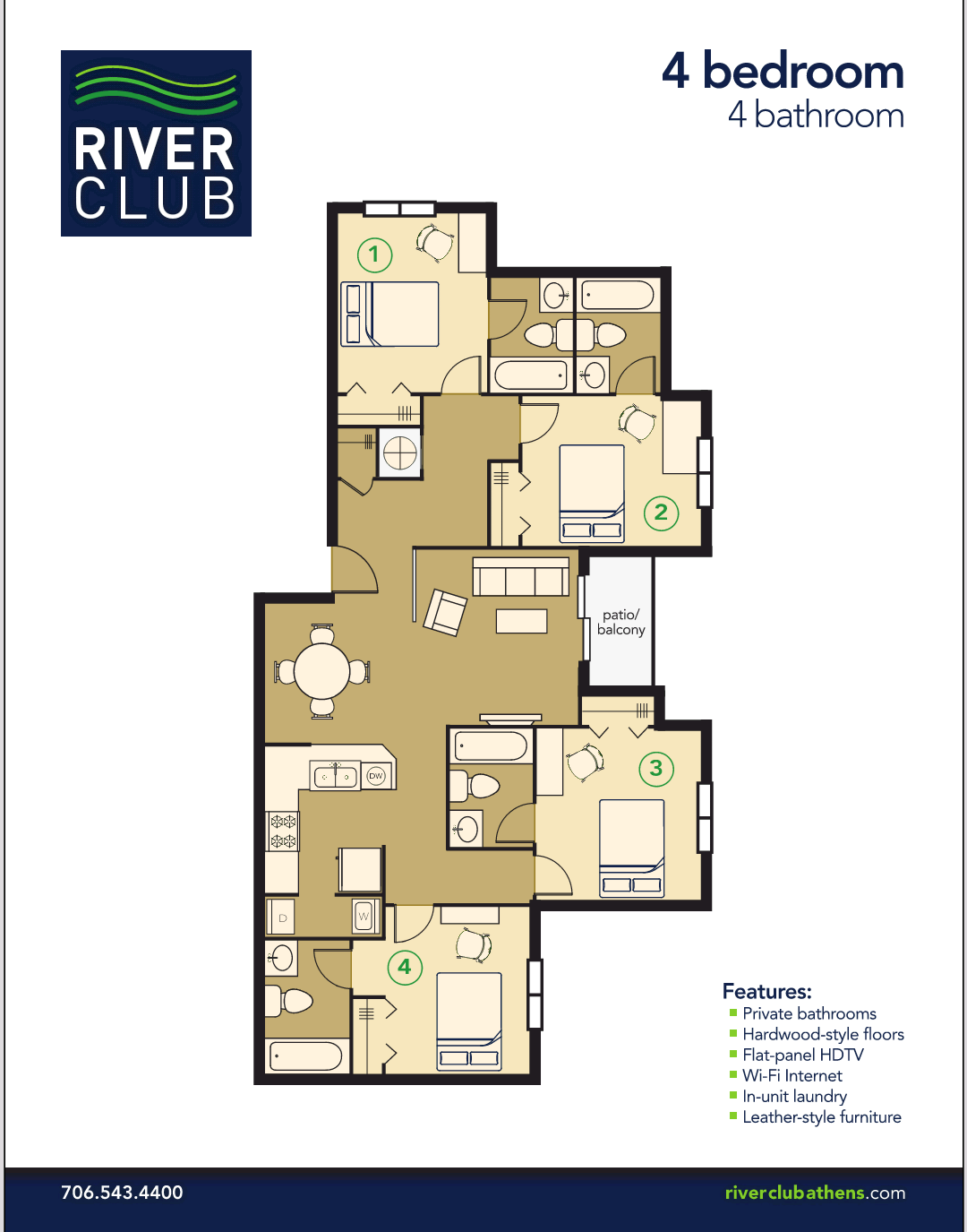 The Connection At Athens The Preserve Drive Athens Ga >> College Apartments in Athens | College Student Apartments