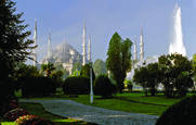 Blue Mosque by Donald Dashfield