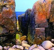 Granite_ocean__time
