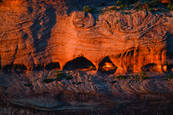 Canyon Sunset by Jeremiah Cogan