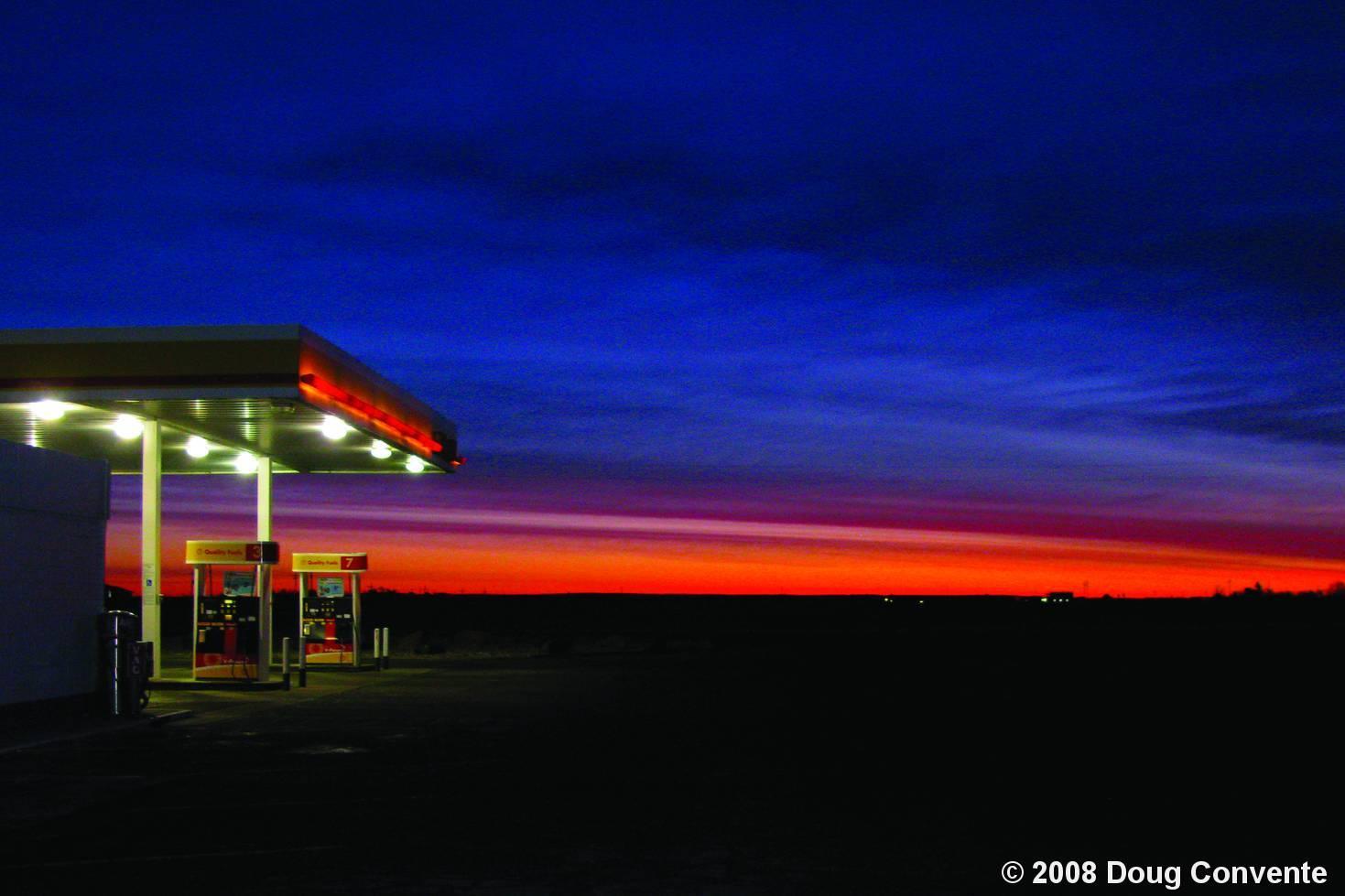Truck Stop by Doug Convente :: Black & White Magazine America Today