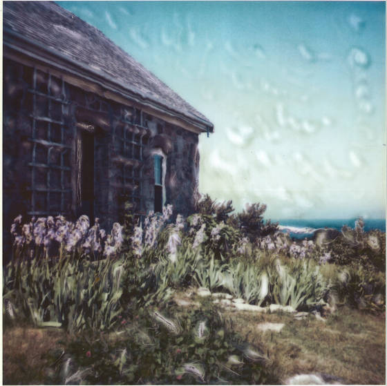 Cottage__polaroid_manipulation_