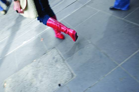 Feet on melbourne street 03