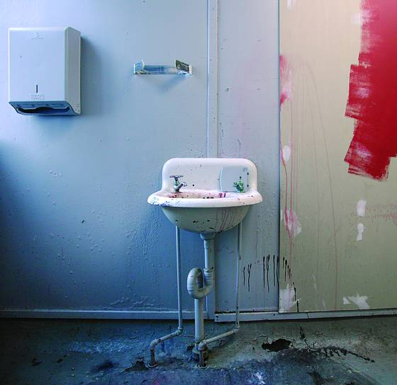 Sink___paint_on_the_wall