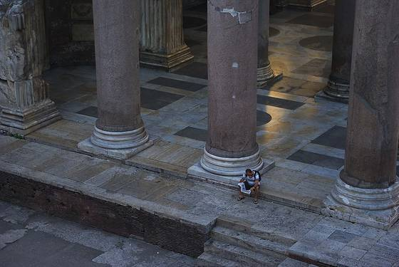 Pantheon morning