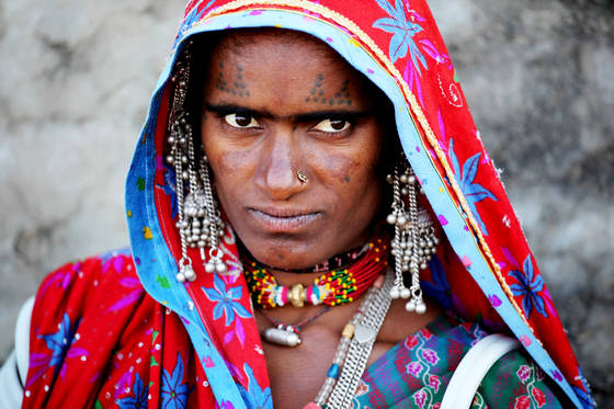 Tribal woman 6