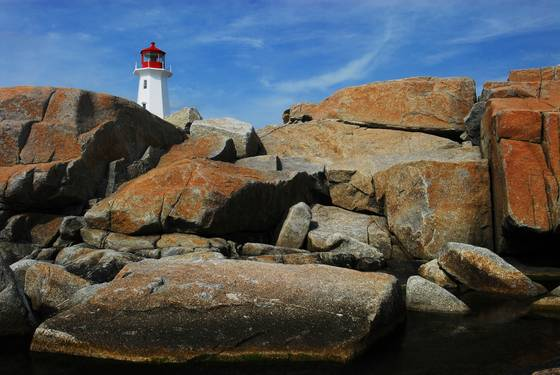Peggy s cove beacon