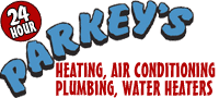 Website for Parkey's Heating, Air Conditioning & Plumbing Inc