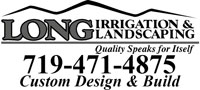 Website for Long Irrigation and Landscaping