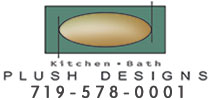 Website for Plush Design Kitchen & Bath