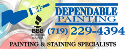 Website for Dependable Painting LLC