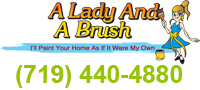 Website for A Lady and a Brush