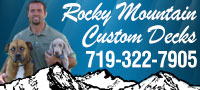 Website for Rocky Mountain Custom Decks LLC