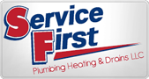 Website for Service First Plumbing, Heating & Drains