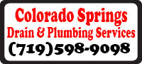 Website for Colorado Springs Drain & Plumbing Services
