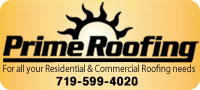 Website for Prime Roofing Inc